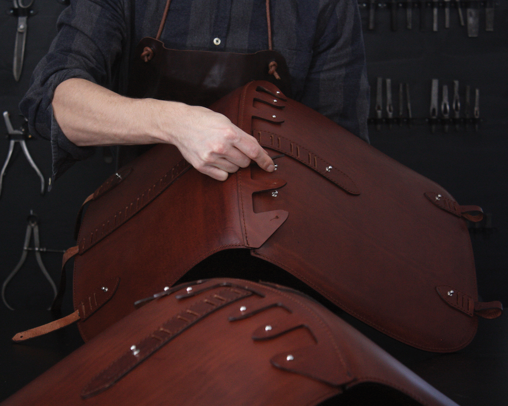 Overgaard Dyrman_The Passion of Making_Leather Work2